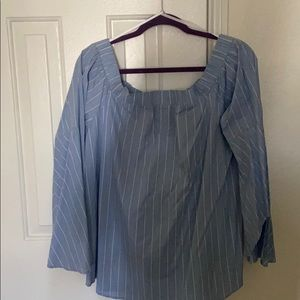 CLEARANCE: Flared sleeved blouse